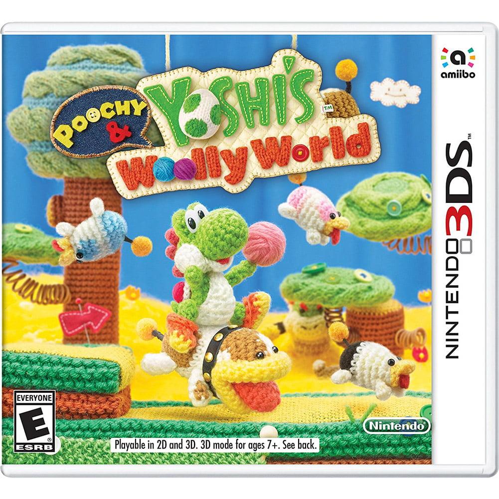 Poochy & Yoshi Woolly World w  Yarn Poochy amiibo, Nintendo, Nintendo 3DS, 045496744533 by Nintendo