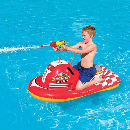 Splash And Play Wave Attack 55 Quot Inflatable Ride On Pool