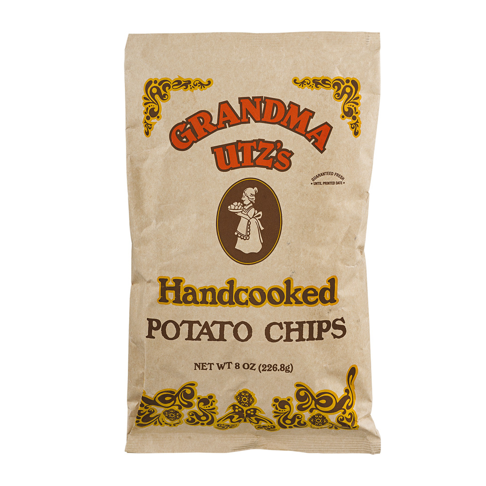 Grandma Utz's Handcooked Potato Chips, 8.0 OZ by UTZ Quality Foods, Inc.
