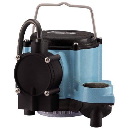 Little Giant 506125 Big John 1/3 Hp 46 GPM Submersible Sump Pump