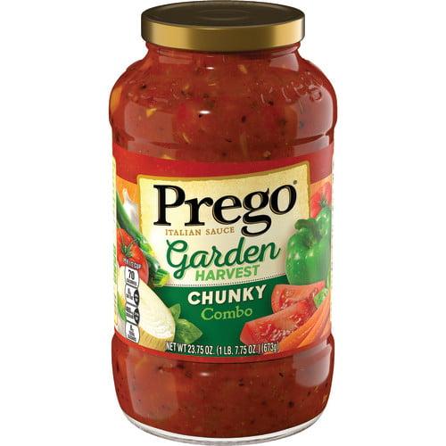 Prego Chunky Garden Combo Italian Sauce, 24 oz.