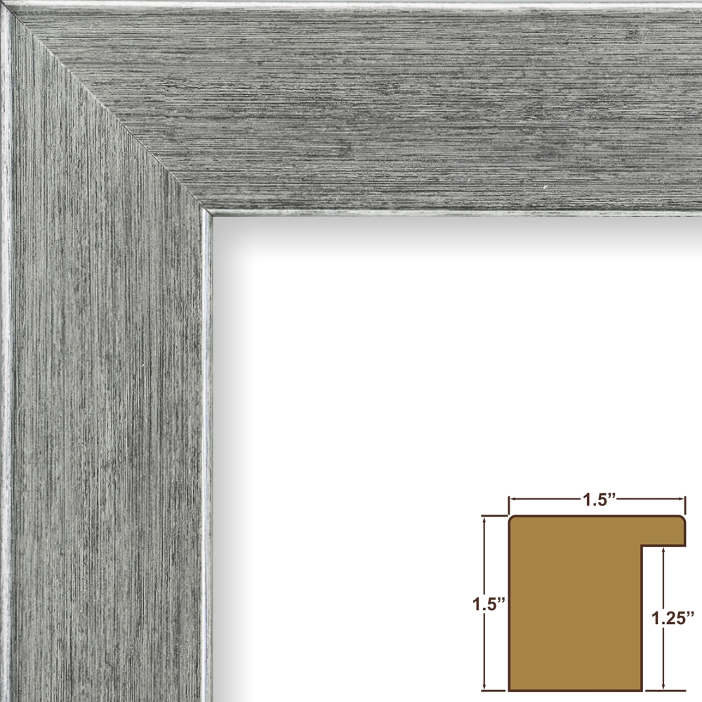 silver modern picture frames. Craig Frames Fiftynine, Salerno Silver Picture Frame, 17 X 22 Inch -  Walmart.com Silver Modern Picture Frames