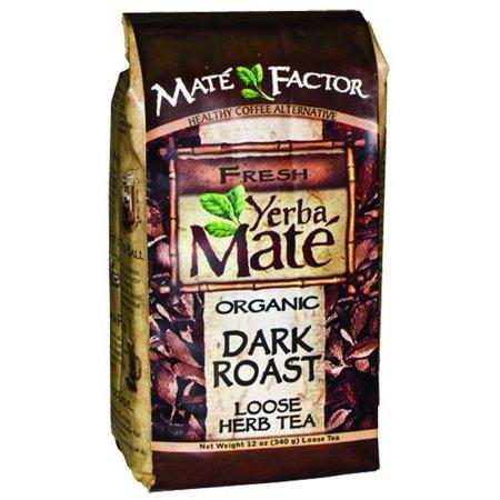 Mate Factor Dark Roast Yerba Mate, 12 Oz