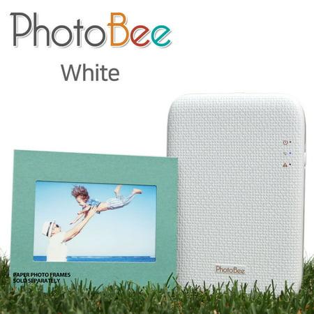 PhotoBee mobile Photo Printer(white) for $<!---->