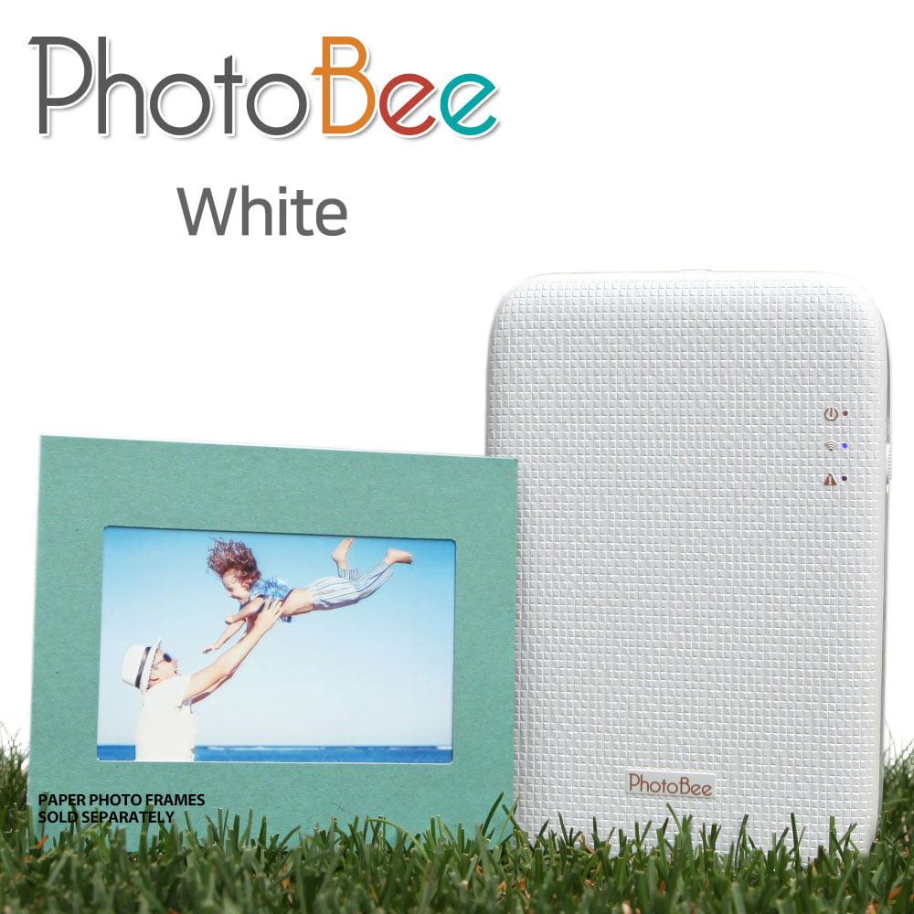 PhotoBee mobile Photo Printer(white)