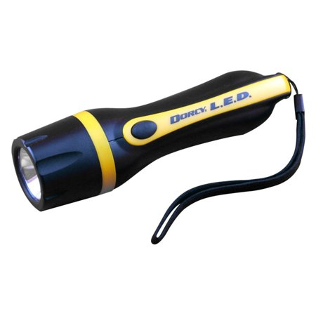 Dorcy LED Flashlight with IPX4 Waterproof Design, 330 Lumens ...