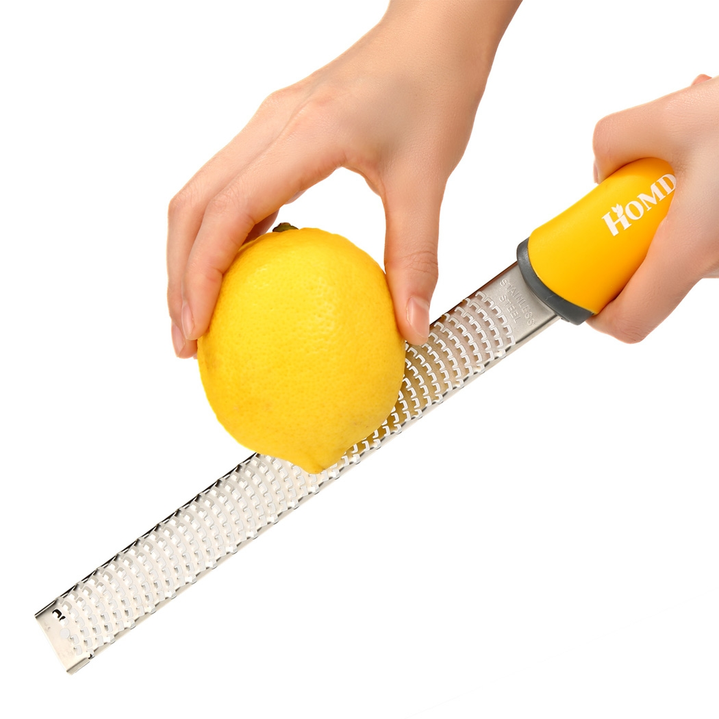 Homdox Microplane Classic Zester Grater Etched Hand Grater