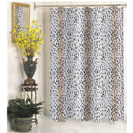 Extra Long Hailey Fabric Shower Curtain