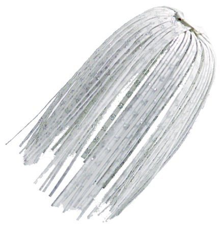 Zman Ez SKirt 3 Pk White Silve Glitter Scales ZM-EZ001Pk3 Multi-Colored