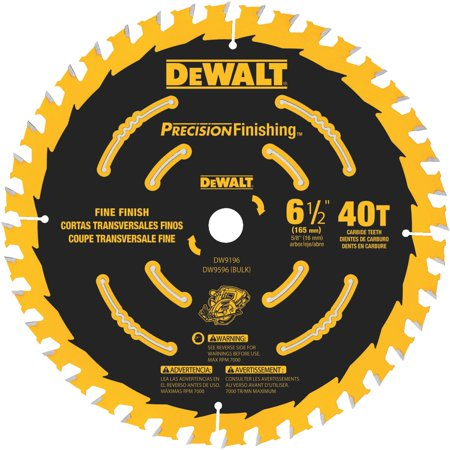 6-1/2 40T Single Precision Framing Saw Blade