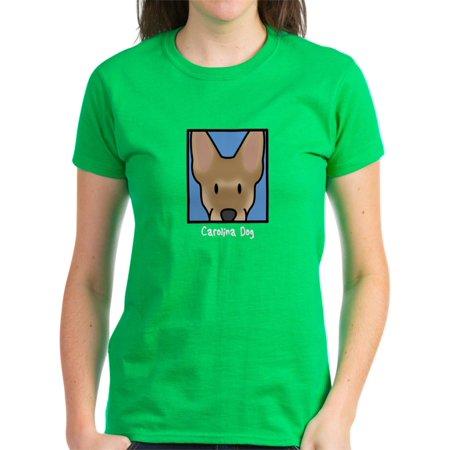 68cc856f CafePress - CafePress - Anime Carolina Dog Women's Black Tshirt - Women's  Dark T-Shirt - Walmart.com