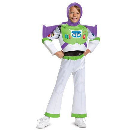 Divergent Four Halloween Costumes (Boy's Buzz Deluxe Halloween Costume - Toy Story)