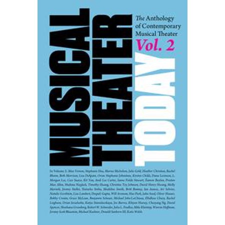 Musical Theater Today Volume 2 - - Halloween Musical Theatre