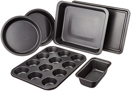AmazonBasics 6-Piece Bakeware Set by
