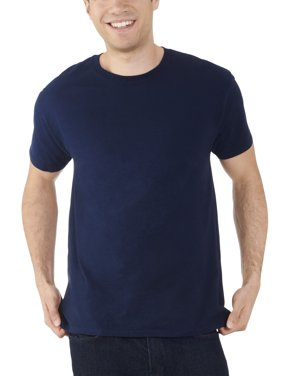 dda316b6 Product Image Men's Dual Defense UPF Crew T Shirt, Available up to sizes 4X