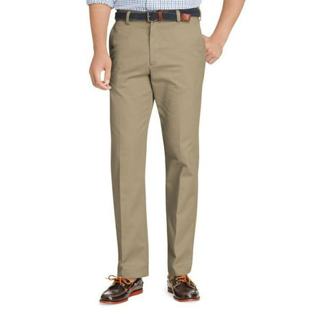 Izod American Chino Flat Front Straight Fit