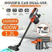S-morebuy GHA585A Vacuum Cleaner Corded, 18KPa Powerful Suction Stick Vacuum, 2 in 1 Handheld Vacuum Lightweight for Hardwood Floor