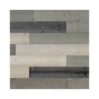 Self Adhesive Barn Wood/ Decorative Wall Art / Rustic Wall Planks/Wood Wall Panels/Simple Peel and Stick Wall Decor 1Box (covers 19.5SQ feet)