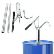Dilwe Detachable Hand Oil Pump-Lever Action Barrel Pump Transfer Fuel Diesel Hand Pump Oil 55 Gallon Drum Tank