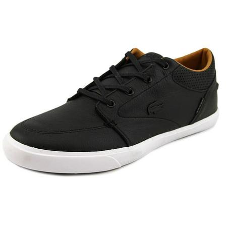 Lacoste Bayliss Vulc Prm Men Round Toe Leather Black Sneakers