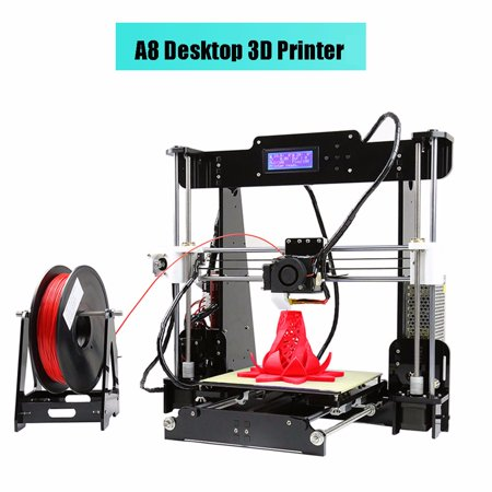 Anet A8 Desktop 3D Printer Acrylic Lcd Screen Printer Diy High Accuracy Self Assembly Us Plug