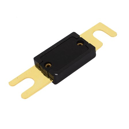 Motorcycle Car Vehicle Plastic Shell ANL Blade Fuse 100A Black Gold Tone - image 2 of 2