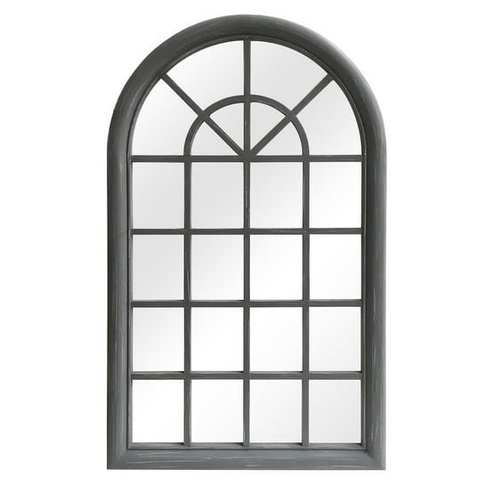 Selections By Chaumont Arched Wood Window Pane Wall Mirror 25 1 2 X 42 1 8 Walmart Com Walmart Com