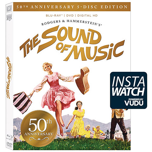 The Sound Of Music (50th Anniversary 5-Disc Edition) (Blu-ray + DVD + Digital HD) (With INSTAWATCH))