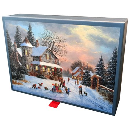Keepsake Boxed Card (LPG Greetings A Treasured Time : Dennis Lewan : 20 Assorted Christmas Cards in Keepsake Box)