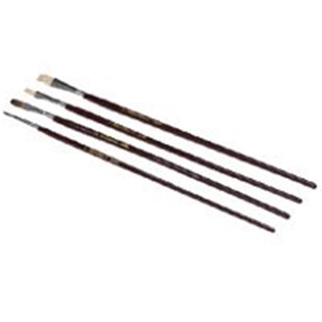 Linzer Products 1500636 4 Piece Art Paint Brush Set