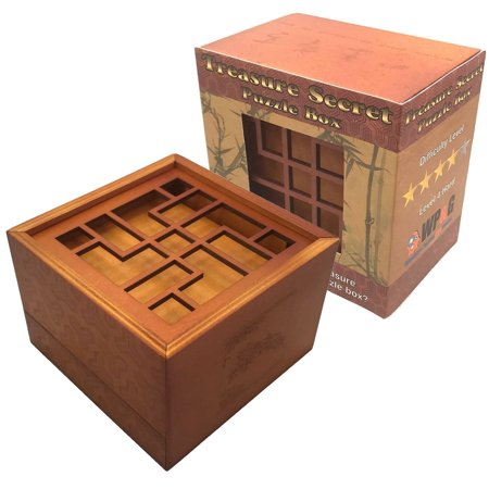 Treasure Secret Puzzle Box - Money and Gift Cards Secret Box](Treasure Game)