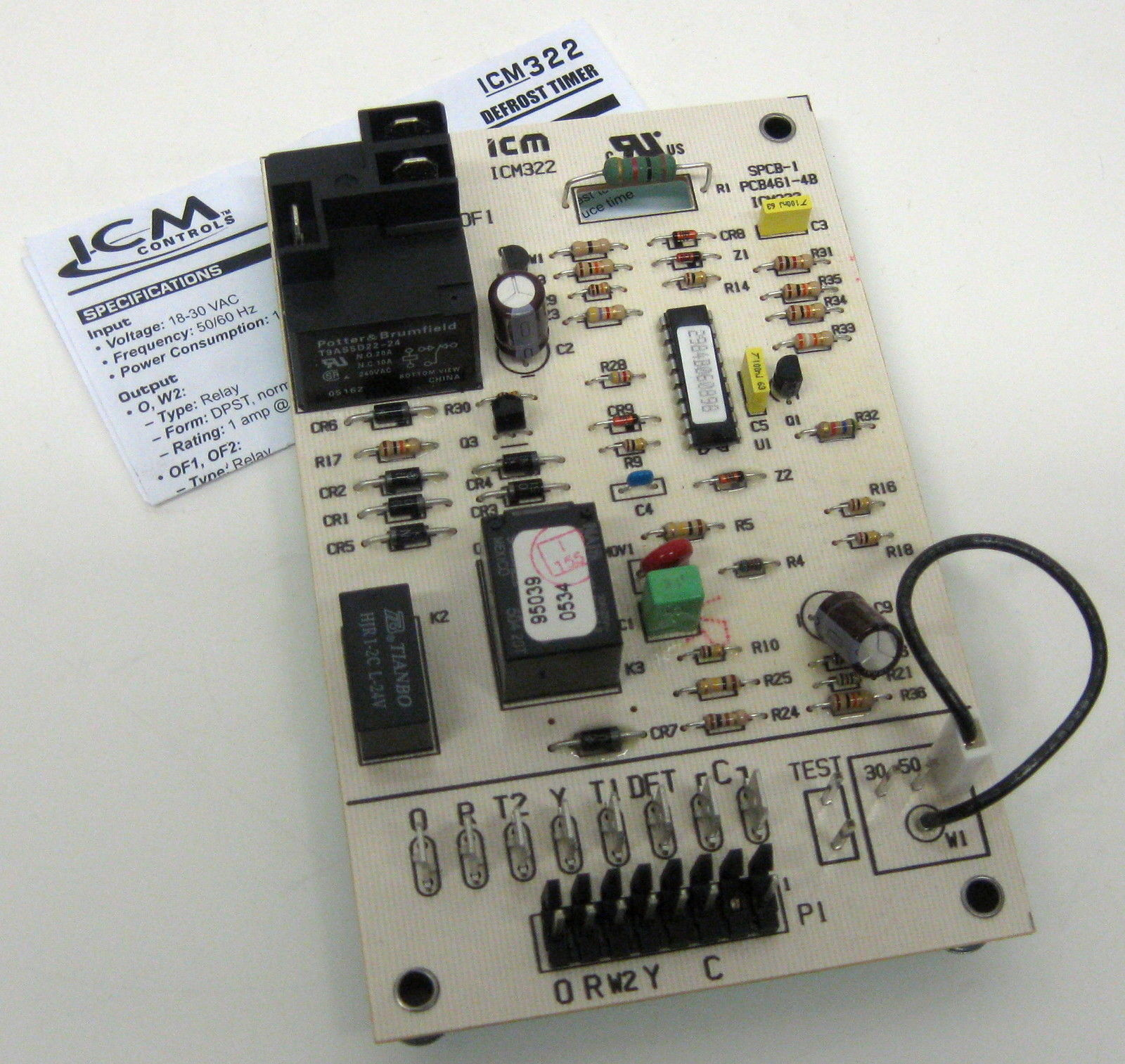 ICM322 ICM Heat Pump Defrost Timer Control for Carrier CES0130024-00