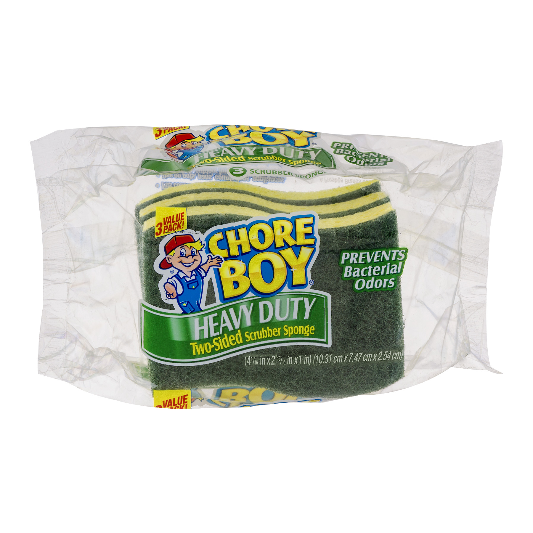 Spic And Span Chore Boy Heavy Duty Scrubbing  Sponge - 3 Ea
