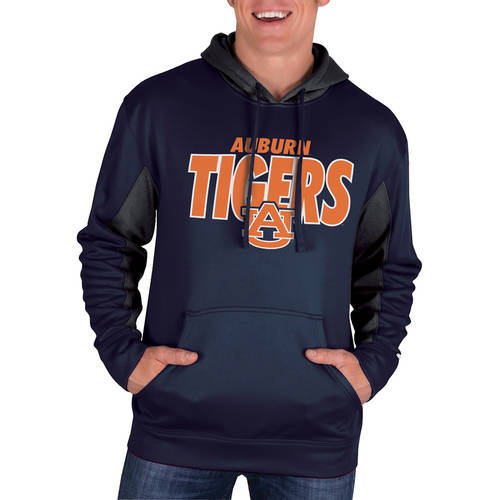 NCAA Auburn Tigers Men's Classic-Fit Pullover Impact Hood