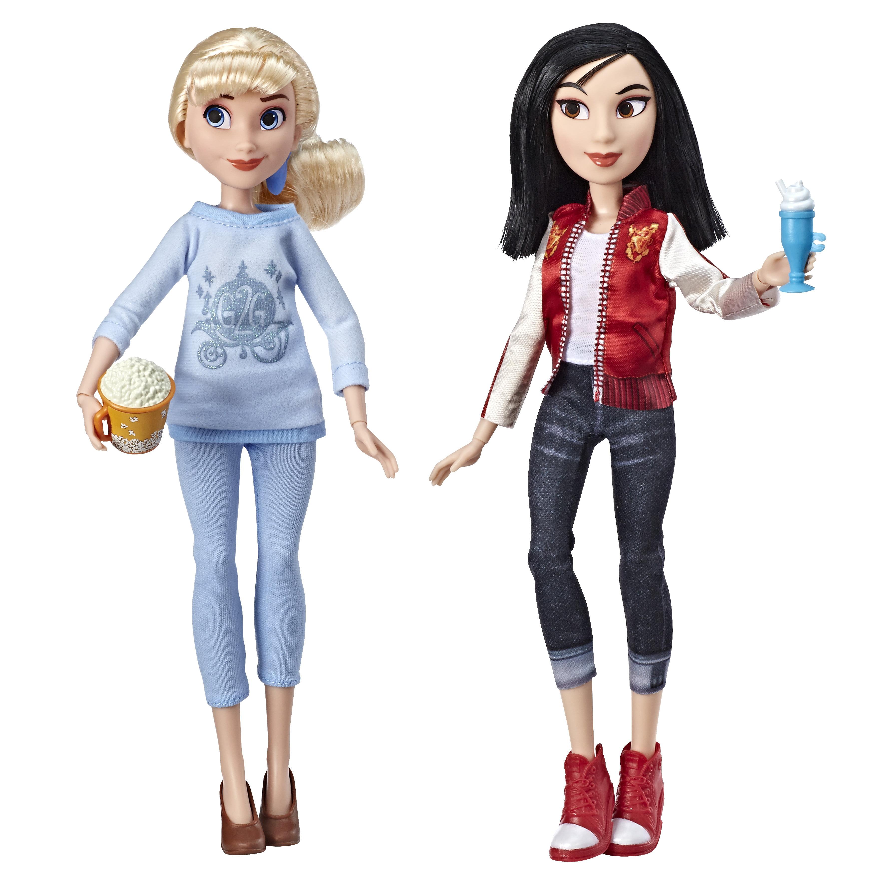 Disney Princess Ralph Breaks The Internet Movie Cinderella And Mulan Walmart Com Walmart Com