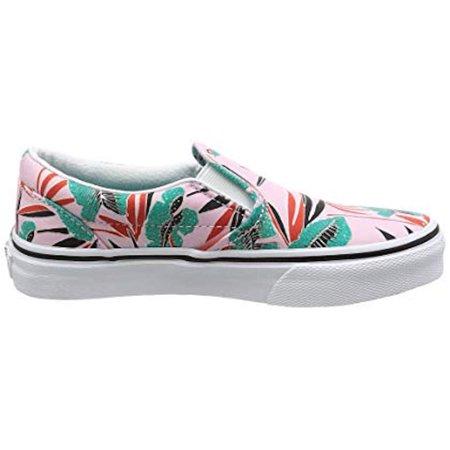 Vans Girls Classic Slip-on Fashion Sneakers Size 2.5 Little - Girls Vines