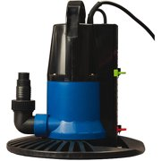 Blue Wave Dredger 1250 GPH In-Ground Winter Cover Pump with Base, Auto On/Off