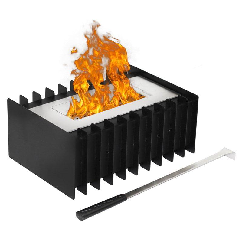 Moda Flame 1.5 Liter Ventless Bio Ethanol Fireplace Grate Burner Insert