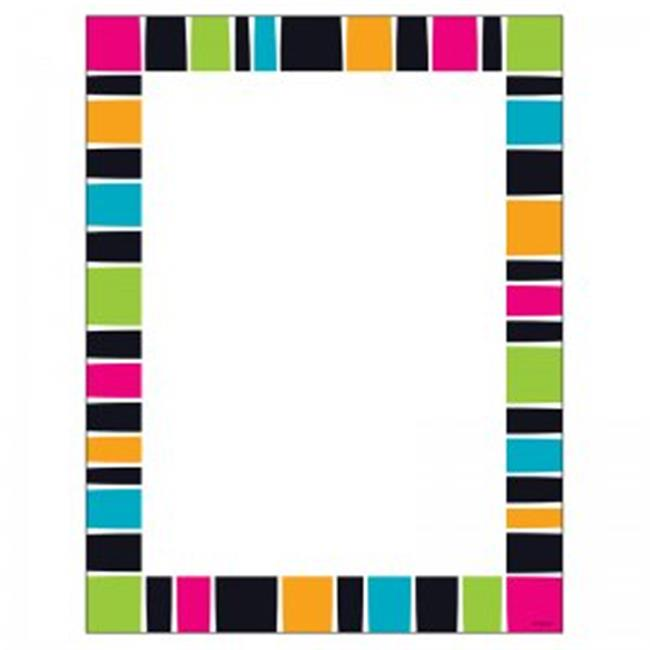 Stripe-Tacular Groovy Terrific Paper - Pack of 6