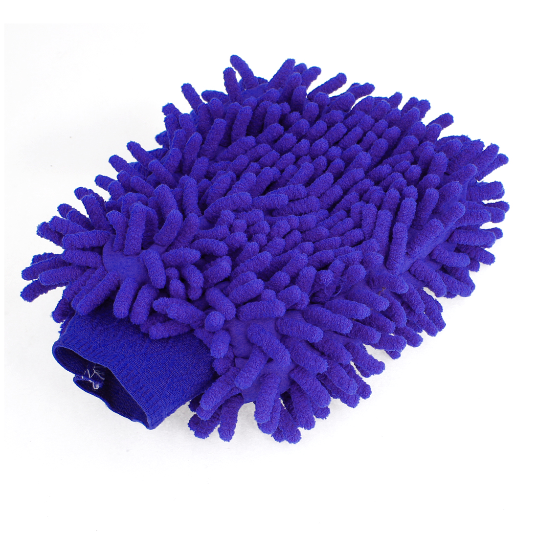 Vehicle Auto Protective Microfiber Chenille Car Wash Glove Anti Scratch Blue