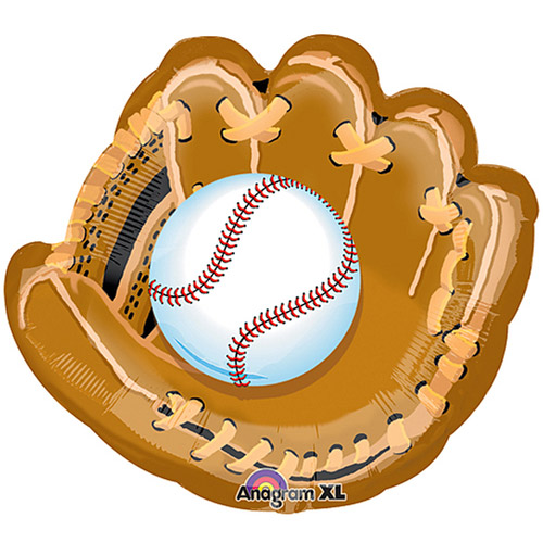 Baseball With Glove Shaped Balloon