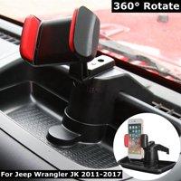 360 Handy GPS Halter Halterung Stnder Aufbewahrungsbox Fr Jeep-Wrangler