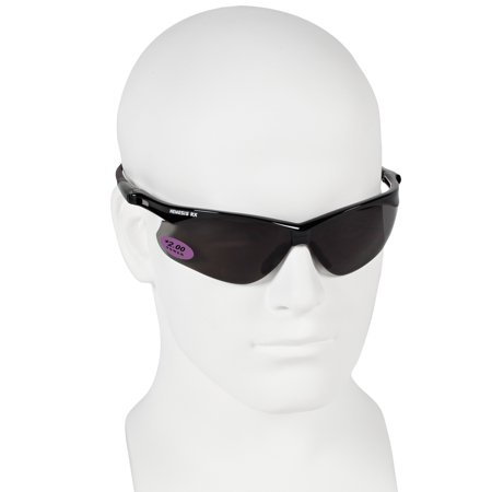 Safety Neck Cord (Jackson Nemesis Bifocal Safety Glasses - Black Frame 2.0 Smoke Lens, Neck Cord, and Lens Cleaning)