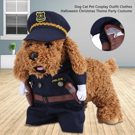Ejoyous Dog Cat Pet Cosplay Outfit Clothes Halloween Christmas Theme Party Costume, Puppy Party Clothes, Pet Cosplay Clothes](Halloween Party Movie Themes)