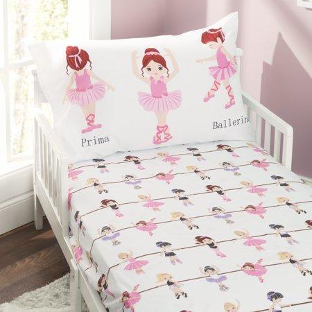 Everyday Kids Toddler Sheet Set - Born to Dance Ballerina