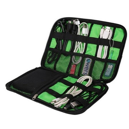 Pro Organizer Bag Travel carry Case  For Electronic Accessories Cable USB Drive