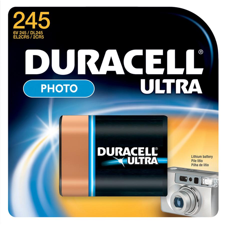 Duracell Lithium Photo 6V Battery - DL245