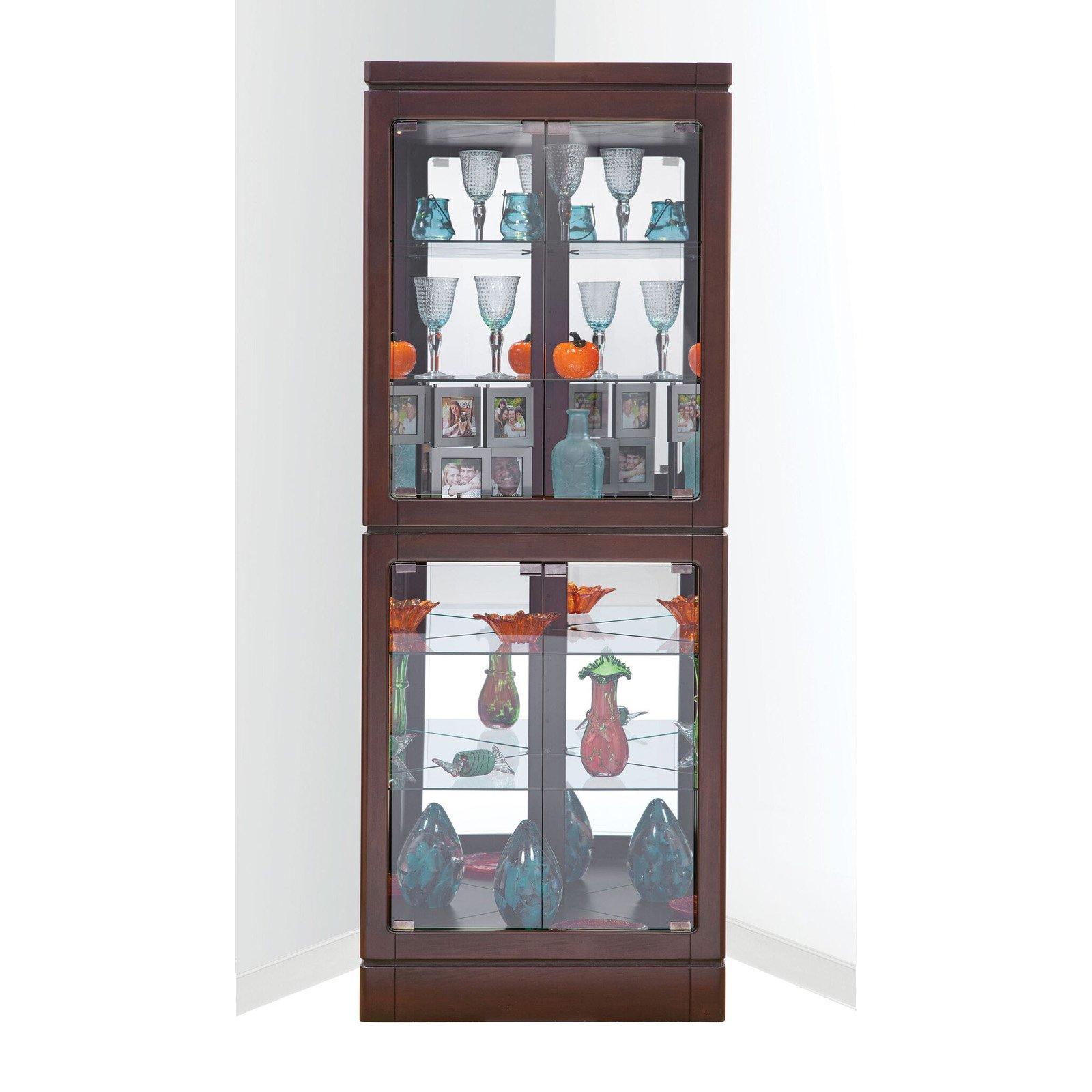 Philip Reinisch Co. Breckenridge I Corner Curio Cabinet