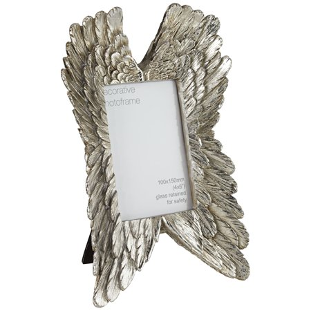 Chateau Lux Angel Wings Silver 4x6 Photo Frame - Angel Photo Frames