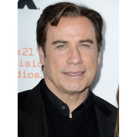 John Travolta At Arrivals For The People V Oj Simpson American Crime Story Event Rolled Canvas Art     8 X 10
